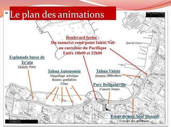 Hiva Vaevae plan des animations