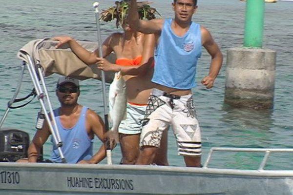 Pêche Huahine Oeo