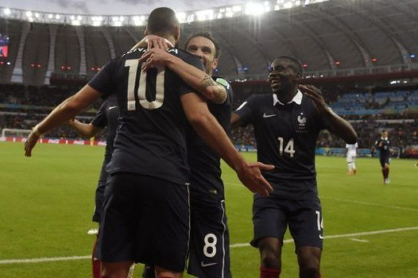 Valbuena et Benzema coupe du monde équipe de france