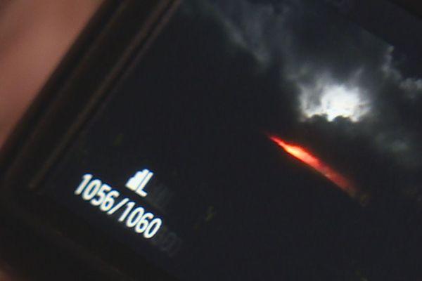 Les clichés de l'éruption