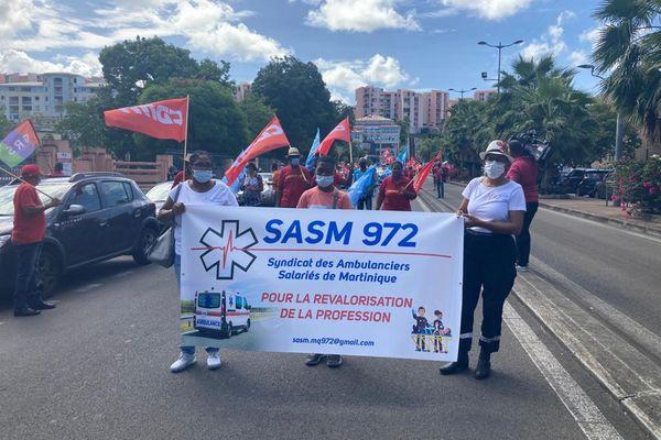Syndicat des Ambulanciers Salariés de Martinique