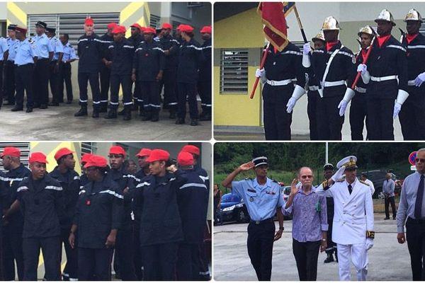 Pompiers : inauguration centre de premier secours des Trois-Îlets