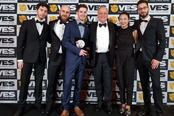 L'équipe d'Hybrids récompensée au VES festival