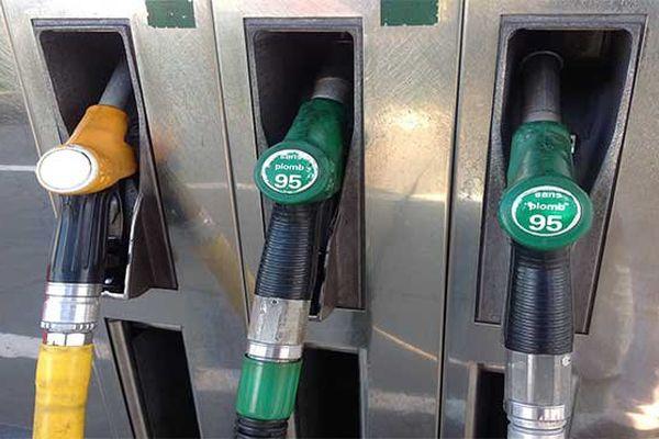 carburants pompe