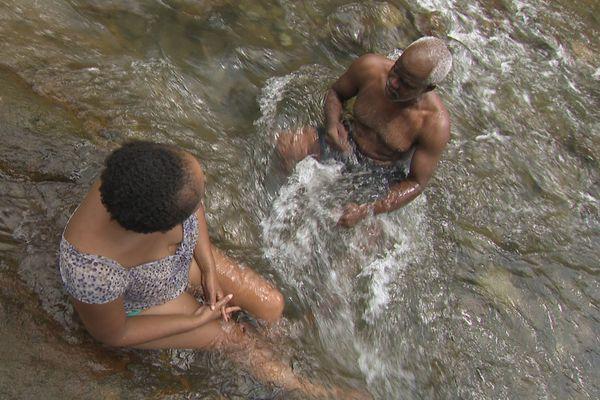 Bain de rivière