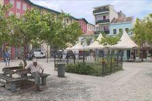 La cour Perrinon à Fort-de-France.