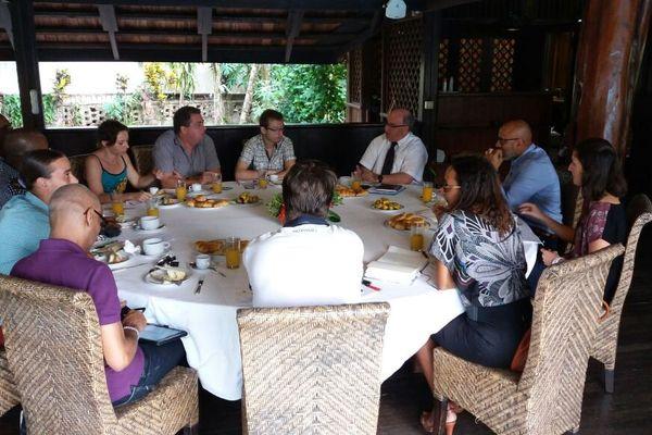 Petit déjeuner presse 2017 du préfet Martin Jeager