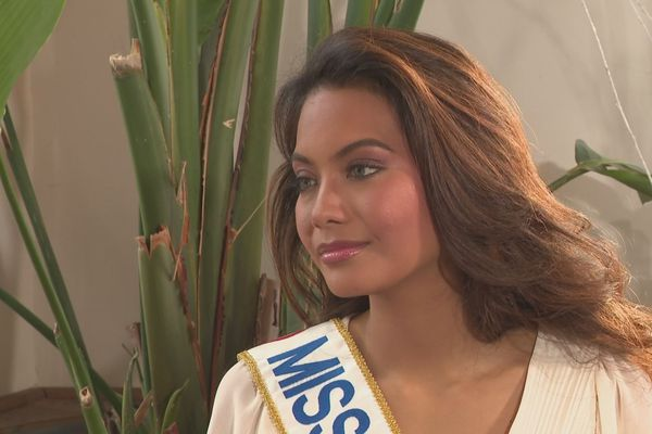 Miss France / Vaimalama Chaves