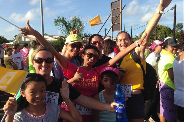 Course la Tahitienne 2015 - Coureuses Polynésie 1ère