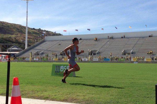 Charlotte Robin , 1ère médaille d'or calédonienne
