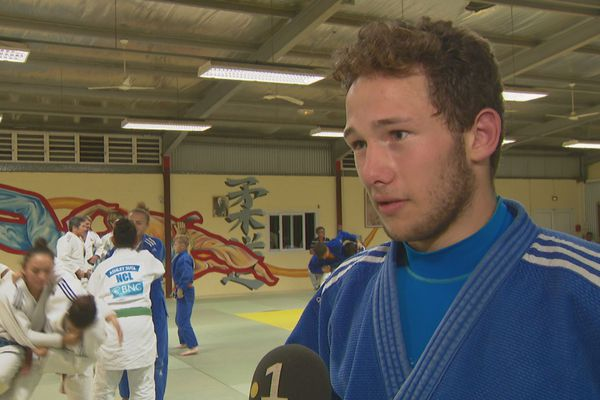 Tanguy a été impressionné par la qualité des gestes de la championne, sa souplesse dans l'exécution.