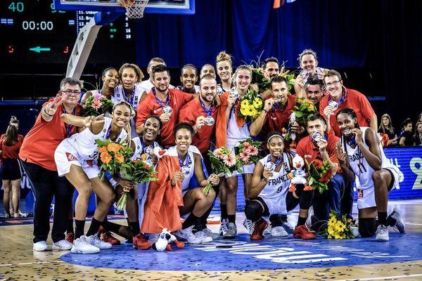 L'équipe de France des moins de 16 ans championne d'Europe en 2017