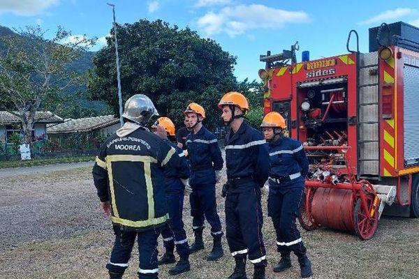 10 jeunes sapeurs pompiers décrochent leur brevet à Moorea