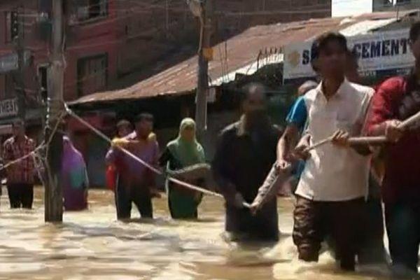 inondations en Inde et au Pakistan