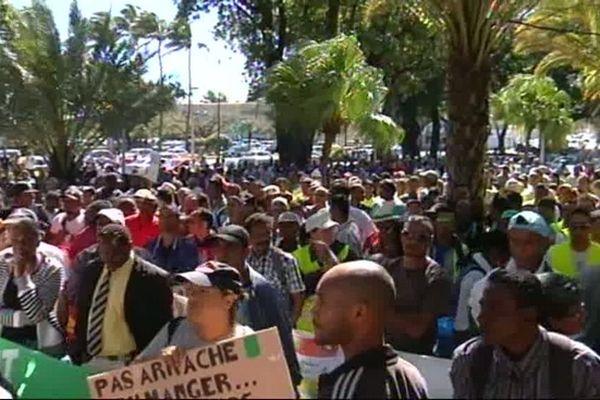 Manifestation emplois verts