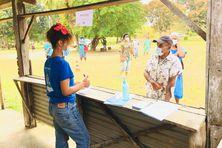 A la maison commune de Tiwaka, côté Poindimié, le 22 septembre.