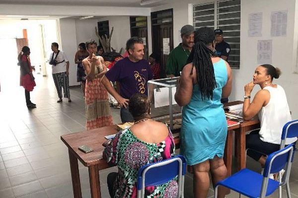 Bureau de vote de Mana