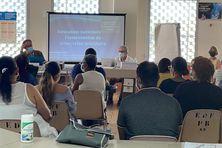 Une quarantaine de préventeurs en formation pour devenir des écoutants à SOS Kriz.