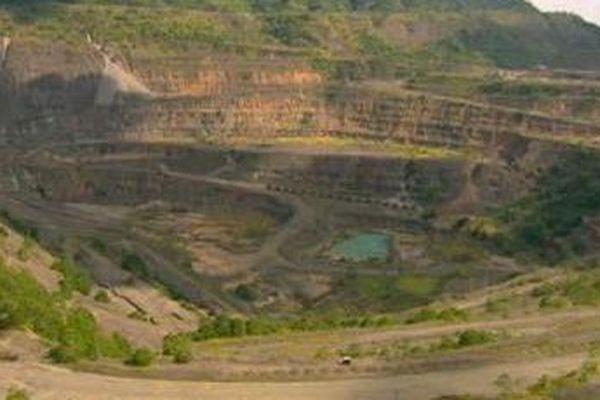 Mine de Bougainville en PNG