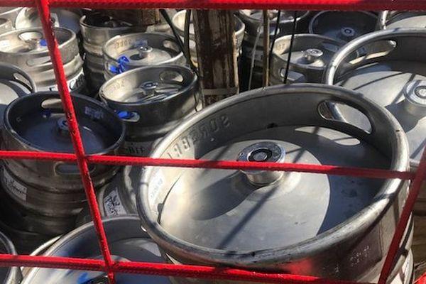 Sakifo 2018, des fûts de bière