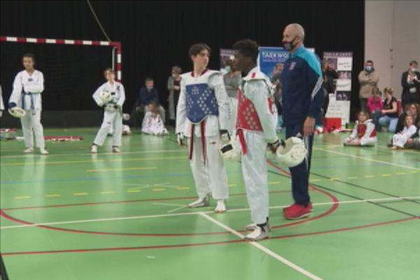 Taekwondo compétition noel
