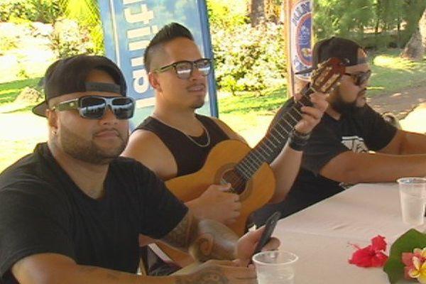 Les Commons kings en concert Royal tahitien