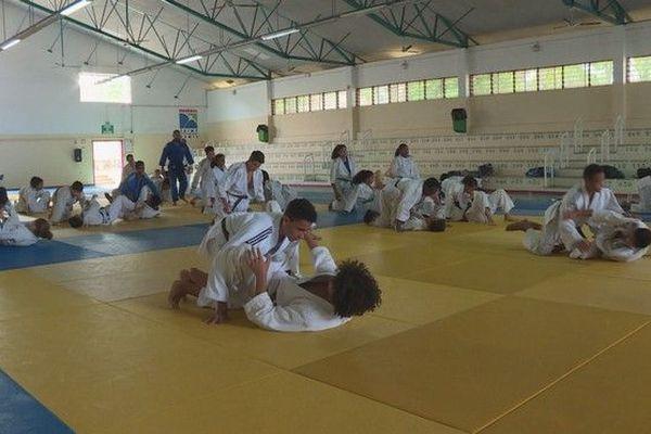 Judo détection sélection Réunion pour JIOI 2019 250119