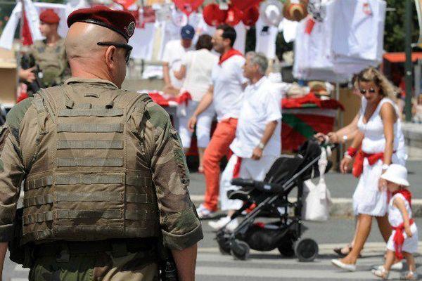 © GAIZKA IROZ / AFP En pleine fête de Bayonne, un homme originaire de Guadeloupe a glorifié l'attentat de Nice du 14 juillet