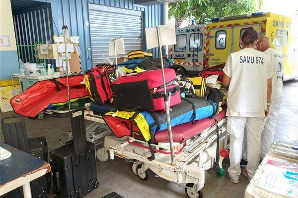 Depuis plusieurs jours, La Réunion accueille jusqu'à quatre patients covid de Mayotte.