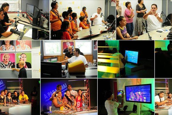 Portes ouvertes à l'occasion des journées du patrimoine à Polynésie 1ère, 20 09 2014