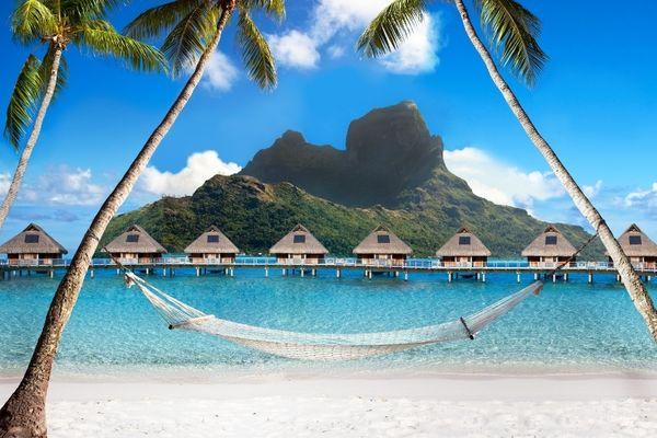 Bora Bora douche froide pour le tourisme