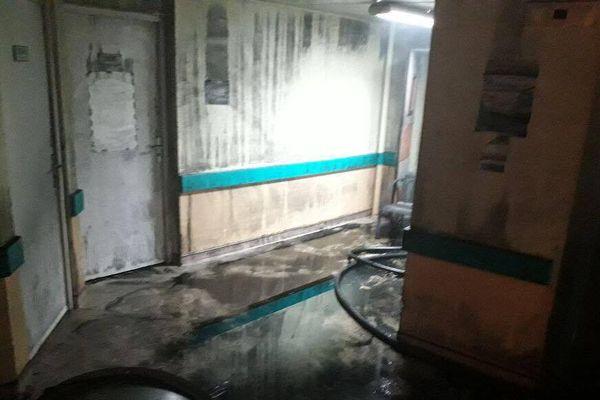 Après Incendie CHU 4