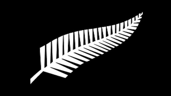 Silver fern New Zealand