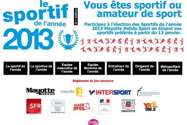 Sportif de l'année 2013