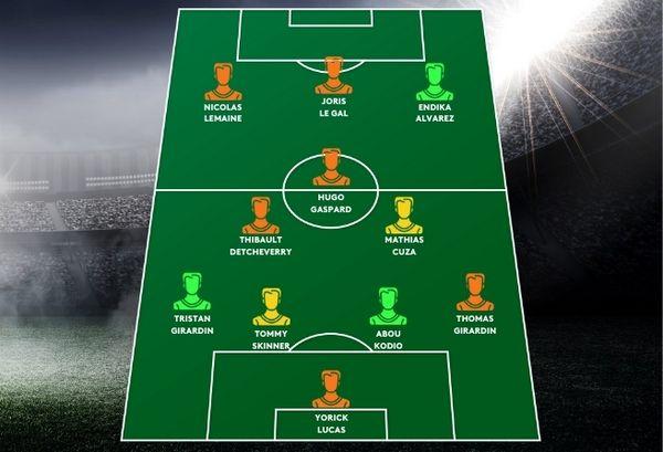 equipe type de la saison