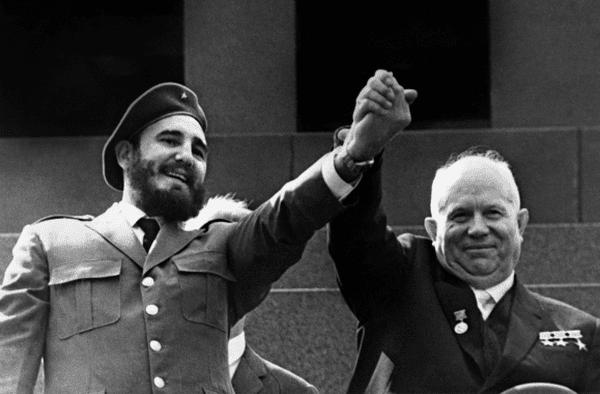 Mai 1963 : Fidel Castro et Nikita Khrouchtchev