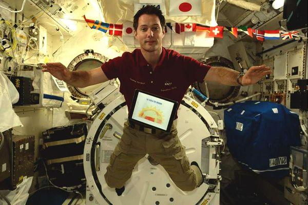environnement : le message lu dans l'espace