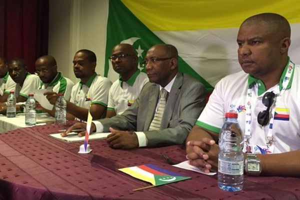 JIOI conférence de presse Comores