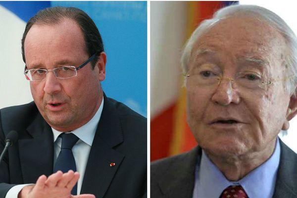 François Hollande Gaston Flosse