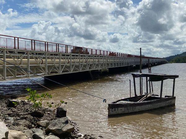 Le pont du Larivot