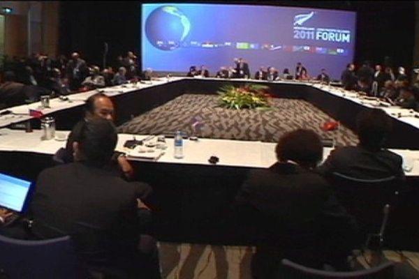 forume des iles du pacifique 2011