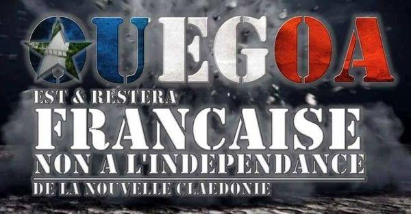 Visuel de soutien aux loyalistes de Ouégoa.