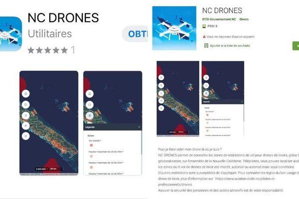 App NC Drones