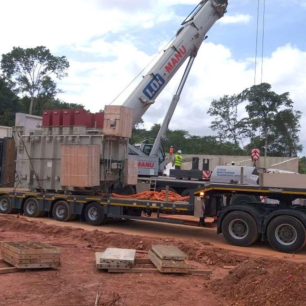 Développement et amélioration du réseau électrique dans l'est de la Guyane