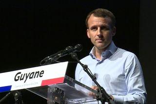 Emmanuel Macron à l'ENCRE