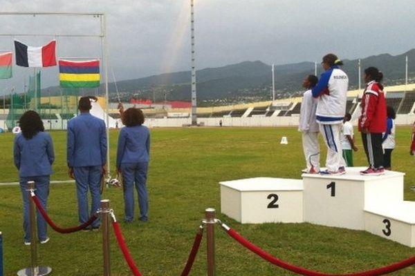 JIOI podium athlé