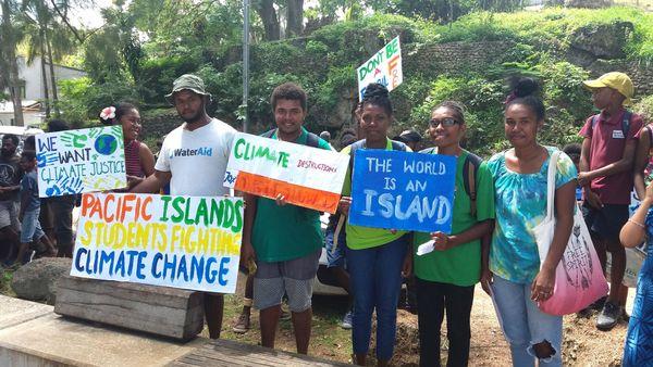 Mobilisation pour le climat, «fridays for future», Vanuatu, 20 septembre 2019.