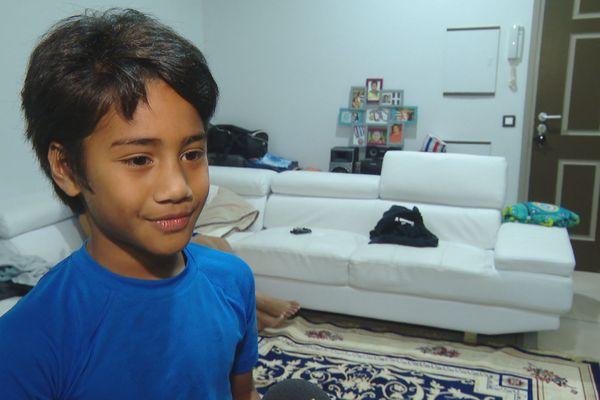 Un petit neveu de Sébastien Vahaamahina, qui s'appelle lui aussi Sébastien.