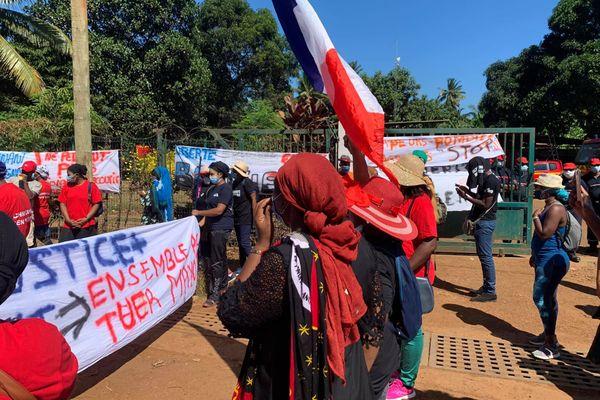 Marche blanche Mayotte