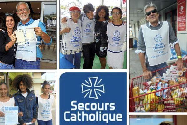 Secours catholique : collecte de dons